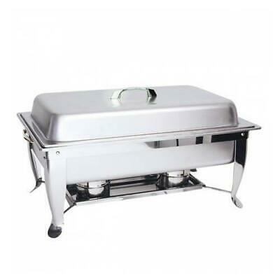 Chafer Chafing Dish Fuel Heated Folding Leg Buffet Warmer INCLUDES 1/1 Food Pan