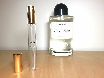 GYPSY WATER EDC by Byredo - 10ml sample - INTERNATIONAL SHIPPING