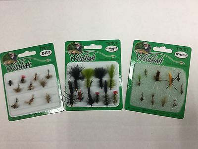 Wildfish Premium Fly Collection 30 Assorted.
