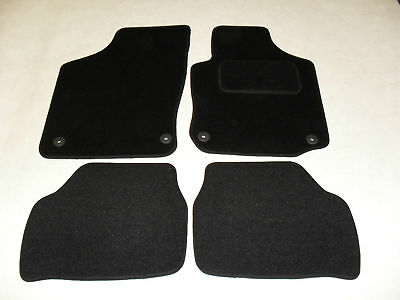 Vauxhall Corsa C 2000-06 Tailored Fit Car Mats in Black