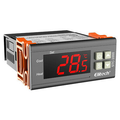 Elitech STC-1000 Temperature Controller Thermostat  w/ sensor 110V For US CA use