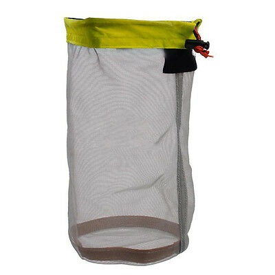 Ultralight Mesh Stuff Sack with Drawstring Bag for Outdoor Sport Travel Camping