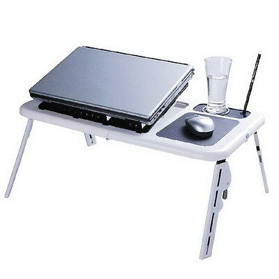 HI-TECH Portable Folding Notebook Laptop USB Cooler Cooling Pad E-table