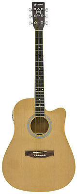 CW26CE electro western guitar - black
