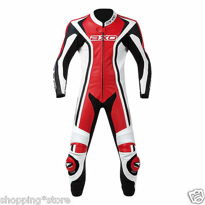2016 Motorbike Leather Suit Motorcycle Racing Men Leather Suit Jacket Trouser