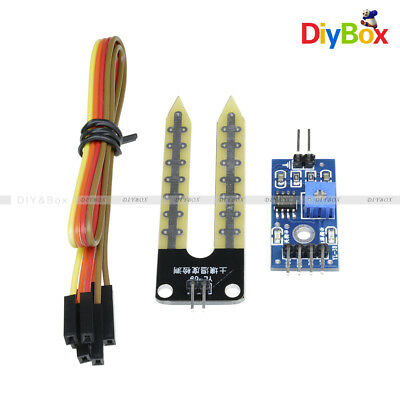 New Soil Hygrometer Detection Module Soil Moisture Sensor Smart Car For Arduino