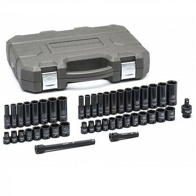 Gearwrench 84916N SAE/Metric 3/8-inch Drive Impact Socket Set, 44-Piece New