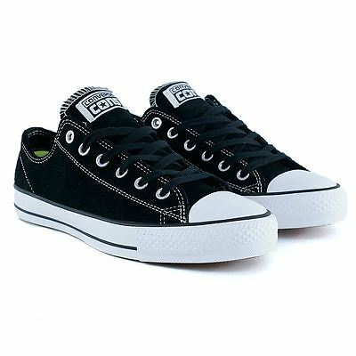 Converse Cons Ctas Pro Black White Skate Shoes New Free Delivery