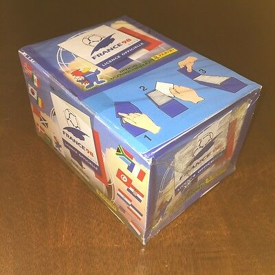 Panini World Cup France 1998 SEALED unopened box with 100 packets