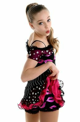 New Figure Skating Competition Dress Elite Xpression Kiss 1539 Adult Small
