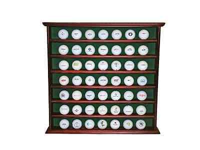 Golf Ball Cabinet Display Collection Sporting Enthusiast Holds 49 Great Gift New