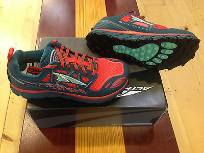 Altra LonePeak 3.0 - Red/Deep Sea - Women's Running Shoes