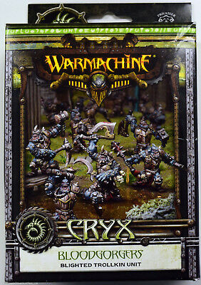 Warmachine Cryx Bloodgorgers Blighted Trollkin Unit PIP 34103 - NEW
