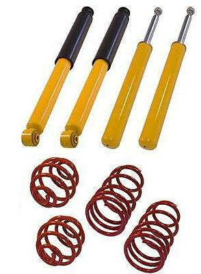 kit de suspension amortisseurs ressorts courts tuning OPEL CALIBRA 2.0 + 16V