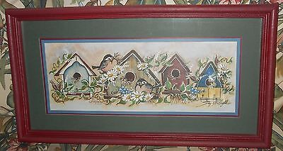 Home Interiors Bird House Horizontal Framed Picture