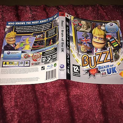 cover artwork for Buzz Brain Of Uk Ps3 NO GAME DISC INCLUDED