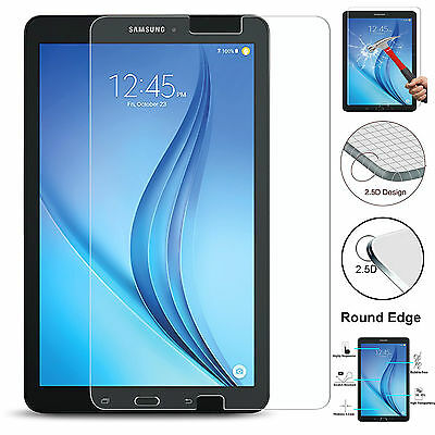 """Tempered Glass 100% Genuine Screen Protector Film For Samsung Galaxy Tab E 9.6"""""""