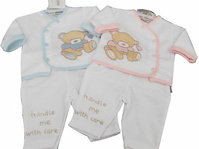 BNWT reborn Premature Preemie Baby Clothes 2 Piece teddy jacket and trousers