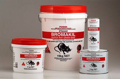 BROMAKIL GRAIN BAIT FOR RATS AND MICE 15-kg (BROMADIOLONE)
