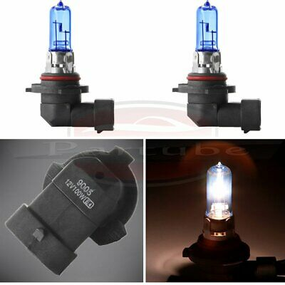 2pcs 9005 HB3 Headlight High Beam Xenon HID White 6000K 100W Halogen Light Bulb