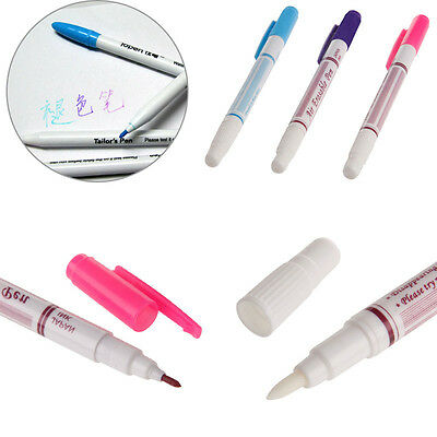 Water Erasable Fabric Marker Pen Marking NoteTextile Ink Auto Vanishing Pen