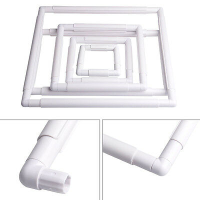 Universal Plastic Embroidery Frame Cross Stitch Hoop Sewing Craft Tool