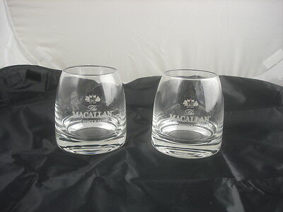 The MACALLAN Scotch Malt Whisky Pair Glasses NEW