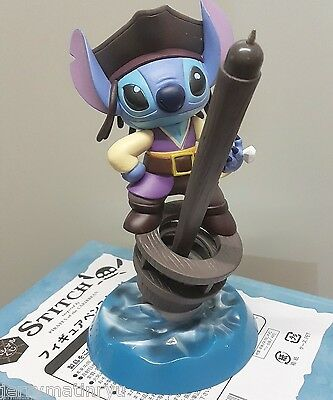 Disney Lilo n stitch Pirates of the Caribbean figure toy special ball pen Gift