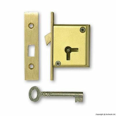 "Mortice Sliding Door Lock - 2 1/2"" - Left Handed"
