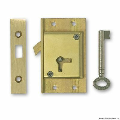 "Cut Sliding Door Lock - 2 1/2"" - Left Handed"