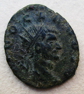Roman Period Divo Claudius Ii 266 Bronze Coin Archaeology