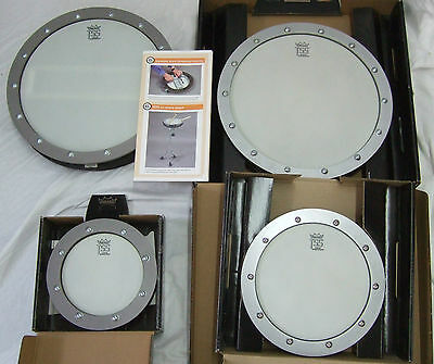 Remo TSS Tunable Sound Shape Drums Extended Range Coated Ambassador Head + Snare