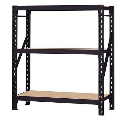 Heavy Duty Storage Shelving Solid Sturdy Racks Industrial Warehouse Commercial