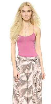 NEW Free People Intimately Seamless Rose Skinny Strap Cami Size XS/S & M/L $38