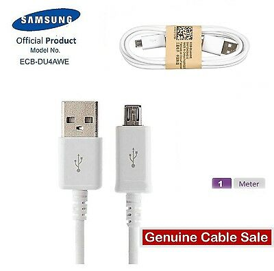 Genuine Samsung Galaxy S7 S6 S5 S4 Mini Charger Sync Micro USB Data Cable Lead