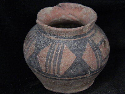 Ancient Teracotta Painted Pot Indus Valley 2500 BC      #PT15103