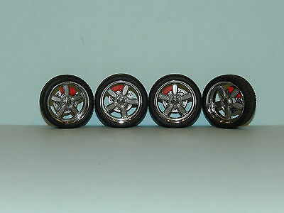 GMP 1/18 5 Spoke Wheel & Tyre Set Great for diorama or rebuilds