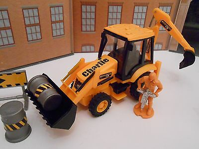 Personalised Any Name Toy Jcb Digger Tractor Play Set Girl Boy Birthday Gift New