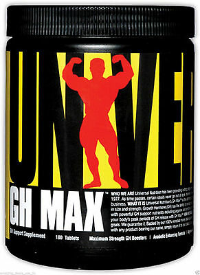 UNIVERSAL NUTRITION GH MAX (180 TABLETS) Men Testosterone Booster