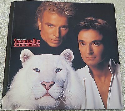 SIEGFRIED & ROY AT THE MIRAGE - souvenir booklet