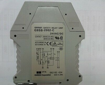 USED Omron G9SB-2002-C Safety Relay Unit tested