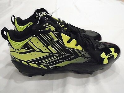 Under Armour Men's New Ripshot Mid Mc Lacrosse Cleats