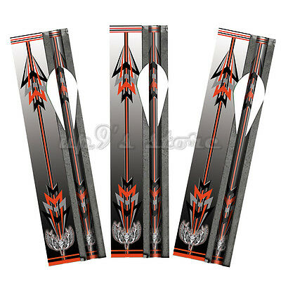 13 Pack Arrow Wraps For Arrow Shafts Fletching-Archery Bow Hunting Length 8 Inch