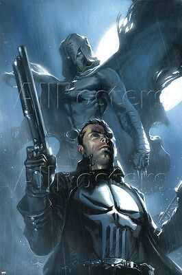 Marvel Moon Knight No.26 Cover: Punisher and Moon Knight Poster - 24x36