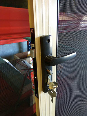 Security hinge Doors  with 316 Stainless Steel Mesh