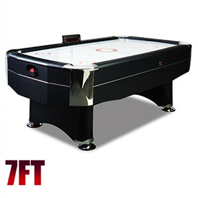 Factory Second 7FT Modern Air Hockey Table No Score Board and Sensor BNE Pickup