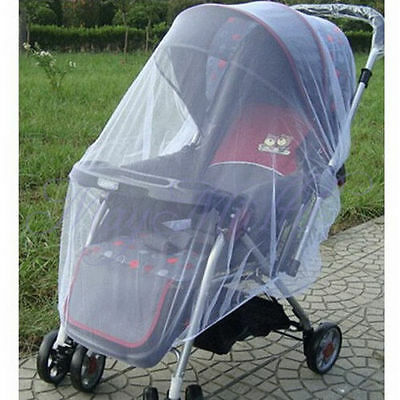 Cute Infants Baby Stroller Pushchair Mosquito Insect Net Safe Mesh Buggy Netting