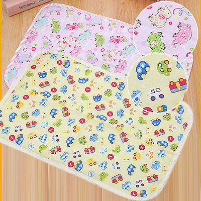 Changing Mat Cover Skin Burp Baby Infant Newborn Kids Breathable Waterproof Pad