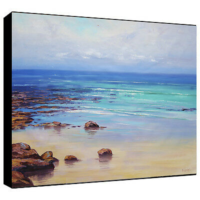 Huge Abstract Oil Painting  Large Modern Beach Painting Ocean Wall art Sea sand