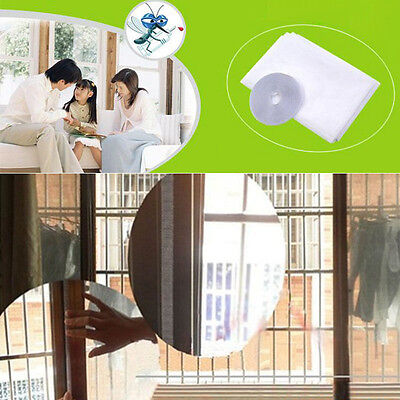 Anti-Insect Mosquito Window Screen Curtain Net Mesh Self-adhesive Free Shipping